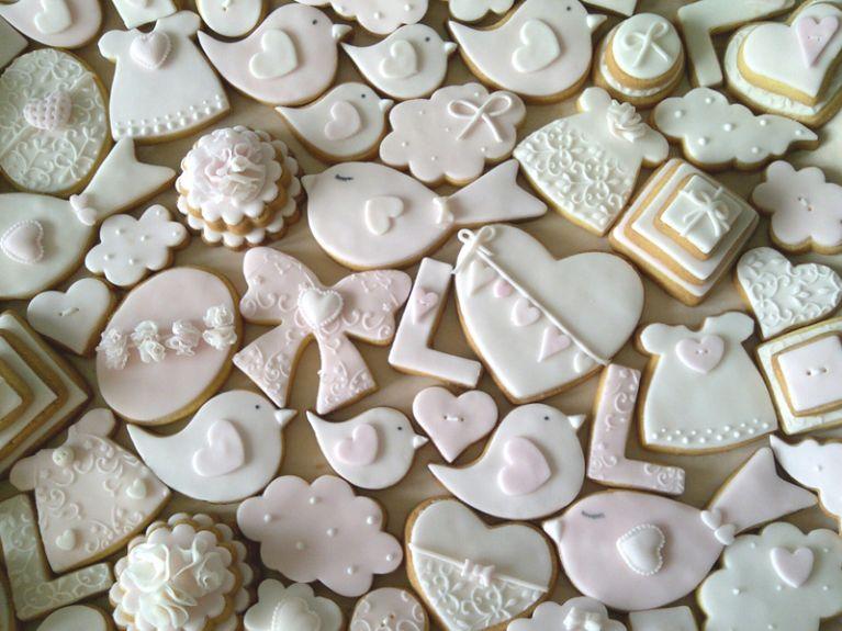 Biscotti con forme personalizzate
