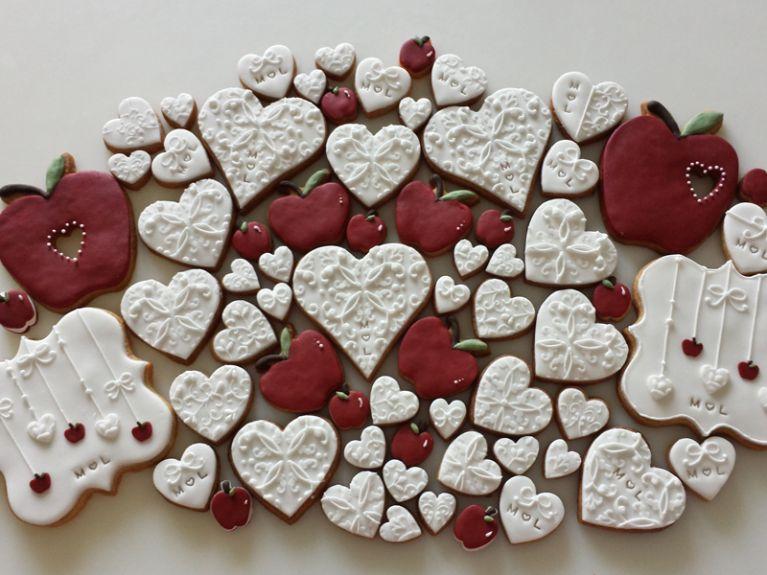 Biscotti fantasia mela
