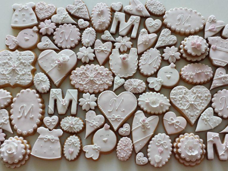 Biscotti personalizzati nascita